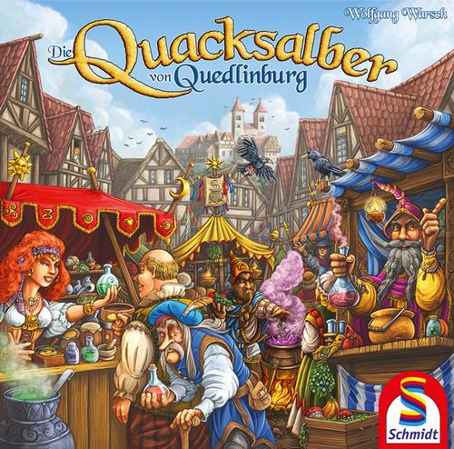 ゲーム紹介『クアックサルバー (Die Quacksalber von Quedlinburg)』