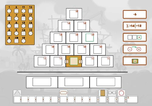 Board Game: Architects of Giza