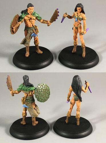Board Game: Shadows of Brimstone: Jargono Native Hero Pack