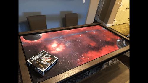 Using a game mat | Thanos Rising: Avengers Infinity War | BoardGameGeek