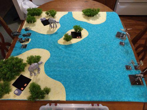 Battle of Scarif Scenario