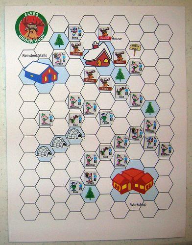 Board Game: Elves Under Hoof