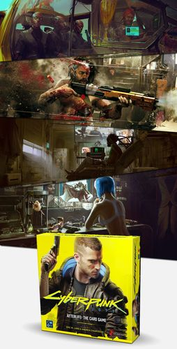 Board Game: Cyberpunk 2077: Afterlife – The Card Game