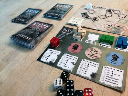 Board Game: Dice of the Living Dead 2nd edition