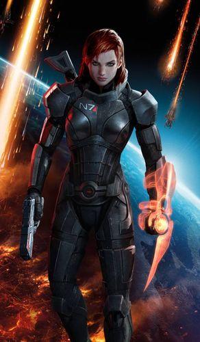 Character: Commander Shepard