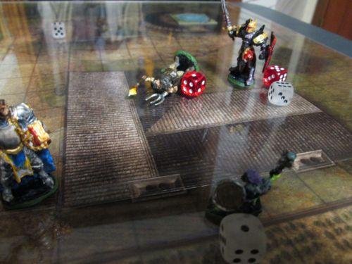 Looking for fantasy skirmish/war game pnp that uses miniatures