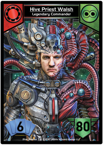Star Realms Command Decks: Red Alert! Shields Up! (negative KS