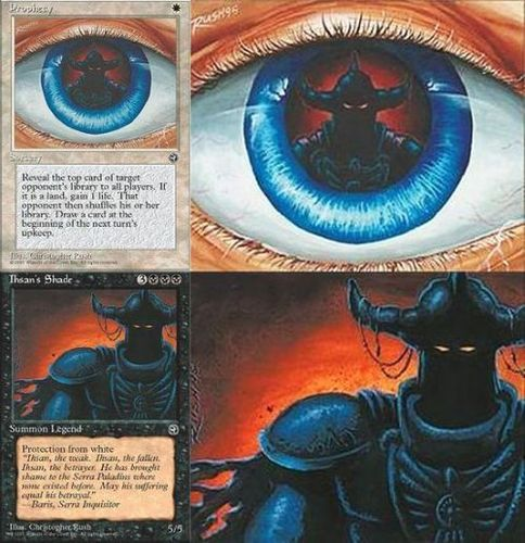 Polyptychs and Diptychs: Panoramic images on MtG card artwork