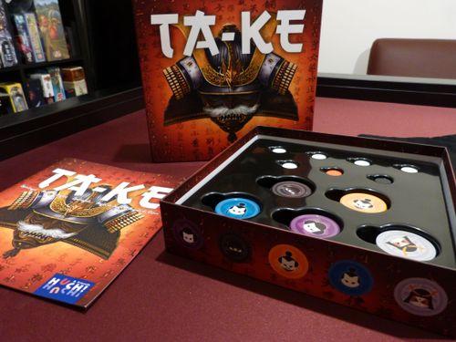 Board Game: TA‐KE