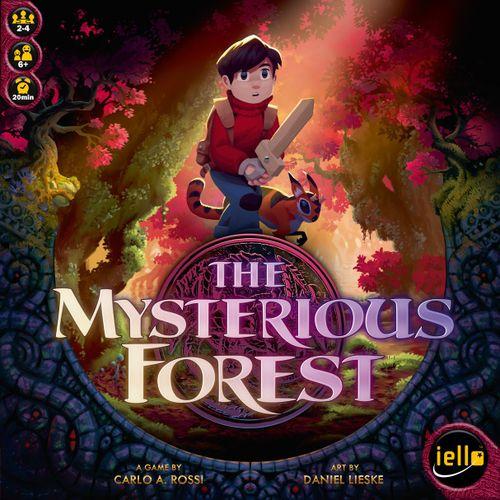 ミステリアス フォレスト/神秘の森 (The Mysterious Forest):カバーアート