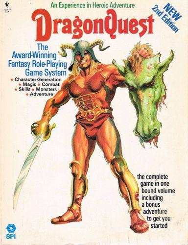 RPG Item: DragonQuest Rulebook (2nd Edition)