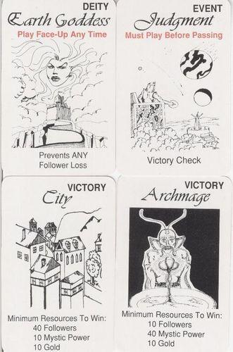 Board Game: Mystic War