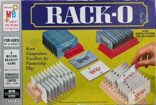 Board Game: Rack-O