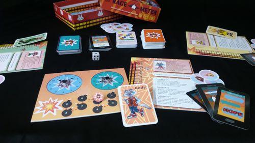Board Game: Rage-o-Meter