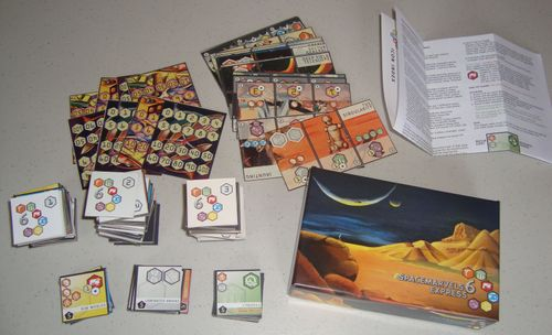 Board Game: Space Marvels 6 Express