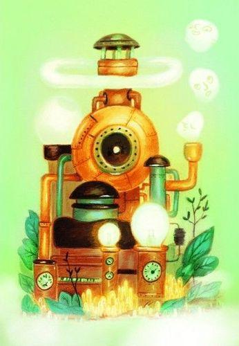 """Board Game: Dixit: Origins – """"La Machine à rêves"""" Promo Card"""