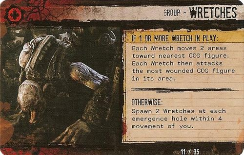Wretch Ai Card Question Gears Of War The Board Game Boardgamegeek