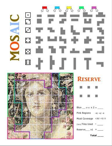 Board Game: Mosaic