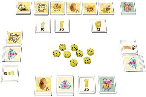 Board Game: Käse Würfeln