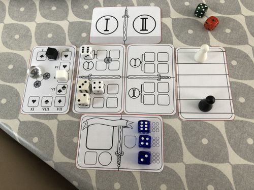 Board Game: The Combatants