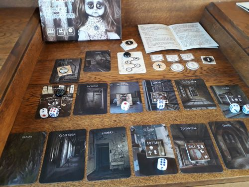 Board Game: Rest In Peace: The Asylum