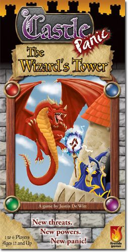 Board Game: Castle Panic: The Wizard's Tower