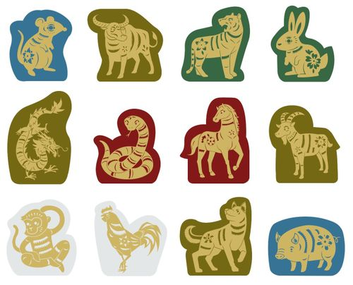 Board Game: Race for the Chinese Zodiac