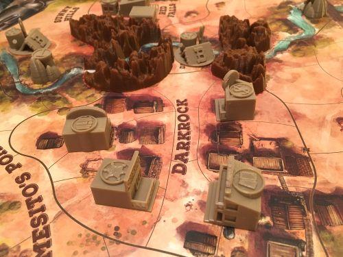 Board Game: Western Legends