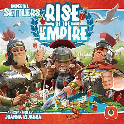 Board Game: Imperial Settlers: Rise of the Empire