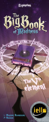 Board Game: The Big Book of Madness: The Vth Element
