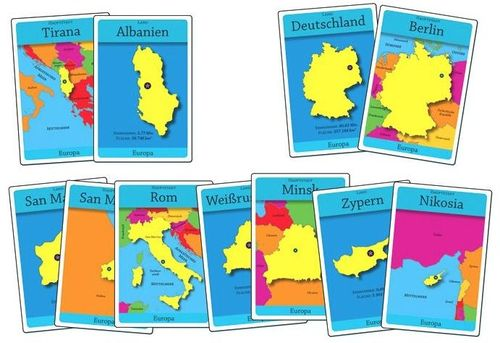 Board Game: GeoCards Europa