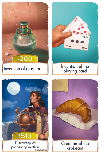 Board Game: Timeline: Classic -- Print & Play Demo