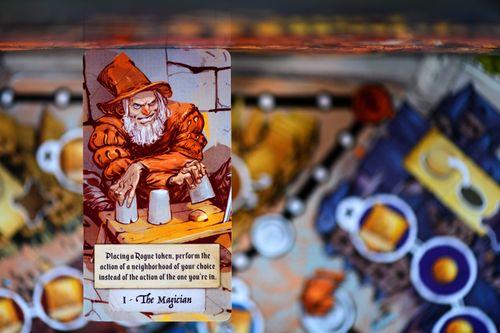 The Magician Plot card
