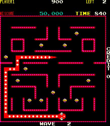 Video Game: Nibbler