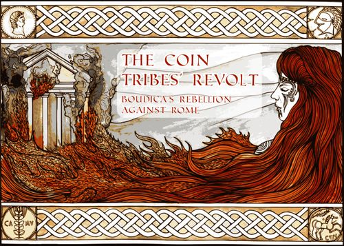 Board Game: The Coin Tribes' Revolt: Boudica's Rebellion Against Rome