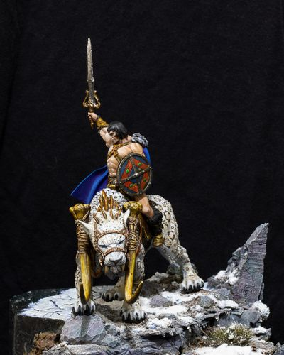 The Golden Turtleback Painted Miniature contest for