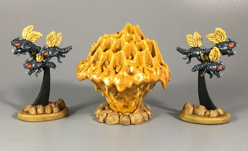 Board Game: Shadows of Brimstone: Void Swarms and Void Hives Enemy Pack