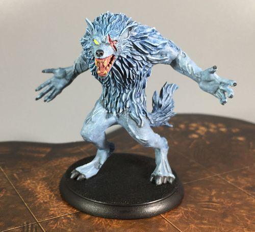 Board Game: Shadows of Brimstone: Werewolf Feral Kin Mission Pack