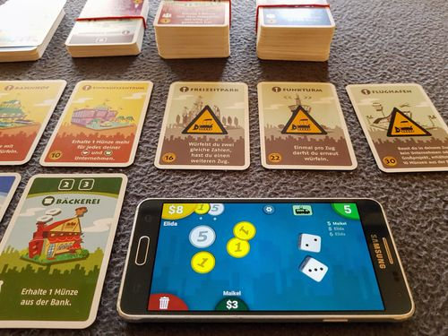 Machi Koro Companion app improves game flow | Machi Koro