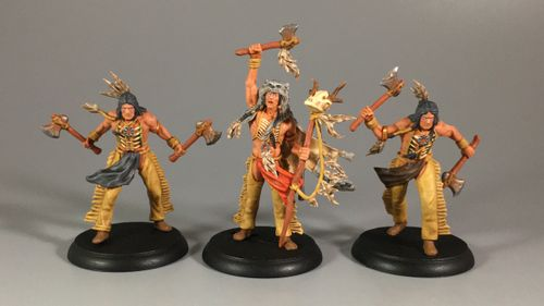 Board Game: Shadows of Brimstone: Black Fang Tribe Mission Pack