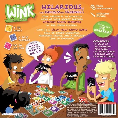 Board Game: WINK