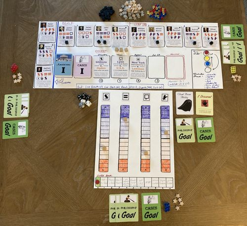 Board Game: First Monday in October