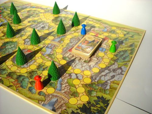 Board Game: Enchanted Forest