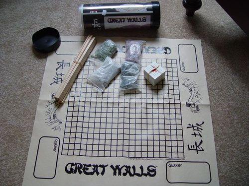 Board Game: Great Walls