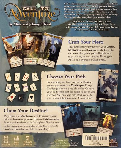 Call to Adventure | Image | BoardGameGeek
