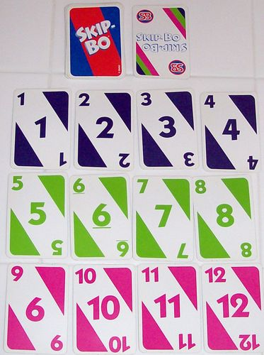 Dont Skip This Chance To Learn A New Game Skip Bo Boardgamegeek