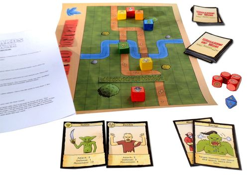 Board Game: Wizards of War