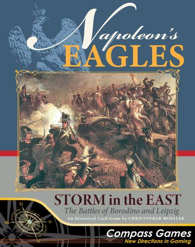 Board Game: Napoleon's Eagles: Storm in the East – The Battles of Borodino and Leipzig