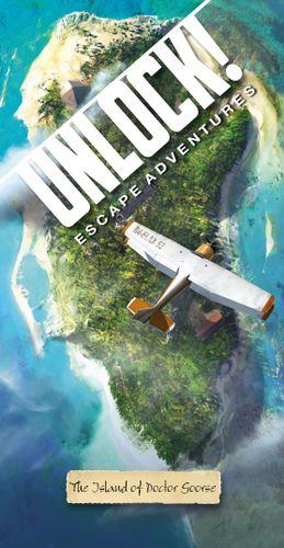Board Game: Unlock!: Escape Adventures – The Island of Doctor Goorse