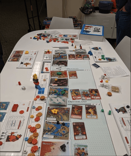 Board Game: Oath: Chronicles of Empire and Exile